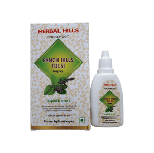 Ayusri Health Products Ltd. India  Panch Hills Tulsi kapky 30ml