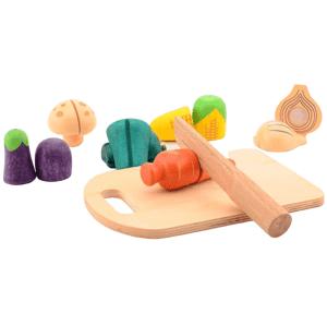 Jouéco dřevěné krájecí zelenina 14ks 36m+