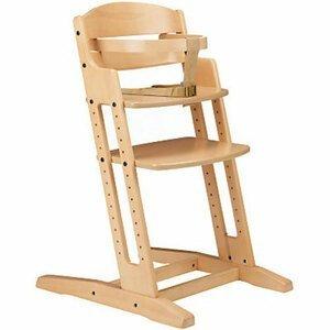 Baby Dan Rostoucí dřevěná židlička DanChair Natur