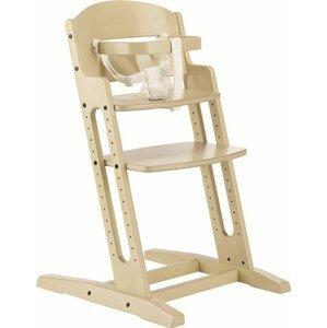 Baby Dan Rostoucí dřevěná židlička DanChair White Wash