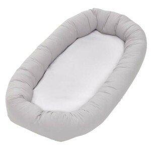 Baby Dan Cuddle Nest, light grey