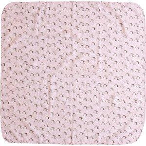 Luma Mušelínová plenka 110x110 cm Racoon Pink