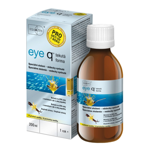 eye q tekutá forma s příchutí vanilky 200ml