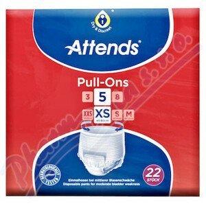 Attends kalhotky absorpční Pull-Ons 5XS 22ks
