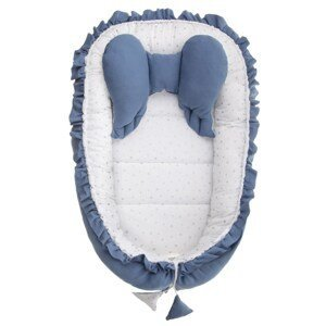 Belisima Baby  Hnízdečko pro miminko Belisima Angel Baby modré