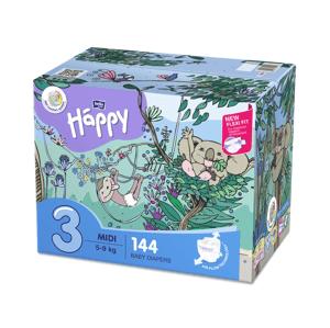 Bella Happy  Bella Baby Happy Midi Box 5-9kg 2x72ks