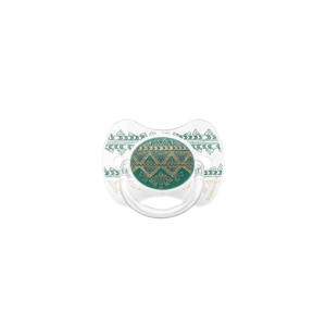 SUAVINEX PREMIUM COUTURE 2018 šidítko fyziologické silikon 4-18 m - Zelené