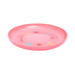 Suavinex Jídelní talíř Booo růžová