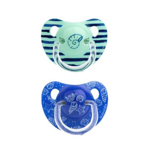 Suavinex Šidítko Anatomické silikon +18m - 2ks - Modré moře