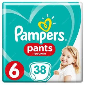 Pampers Pants Kalhotkové plenky S6 (15+kg) 38ks