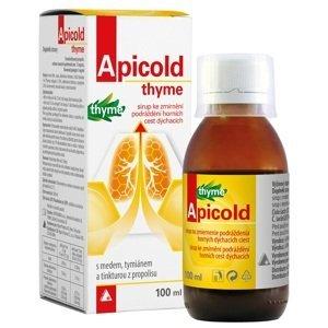 APICOLD thyme sirup 100ml