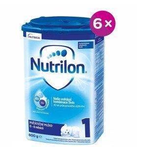 Nutrilon 1 Počáteční mléko od narození 6x800g