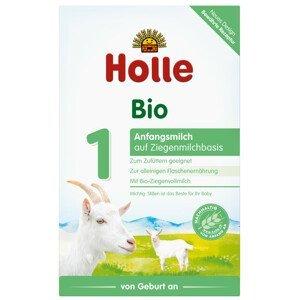 Holle Bio počáteční dětská mléčná výživa na bázi kozího mléka 400g