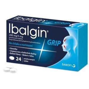 Ibalgin® Grip 200mg/5mg potahované tablety 24ks