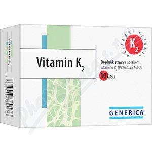 Generica Vitamin K2 90 kapslí