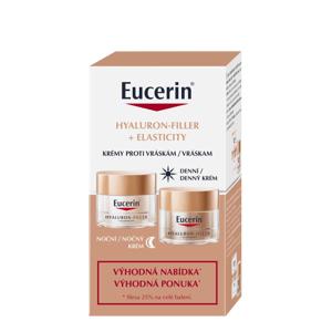 Eucerin Hyaluron-Filler + Elasticity duopack denní + noční krém 2x50ml