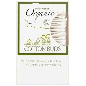 Simply Gentle Organické vatové tyčinky 200ks