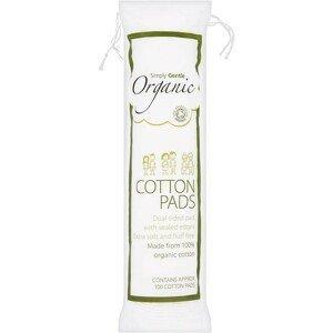 Simply Gentle Organické vatové polštářky 100ks