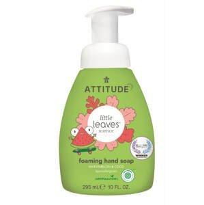 Attitude Dětské pěnivé mýdlo na ruce Little leaves s vůní melounu a kokosu 295ml