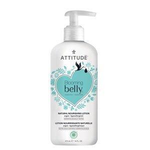 ATTITUDE Blooming Belly Přírodní vyživující tělové mléko nejen pro těhotné s arganem 473ml