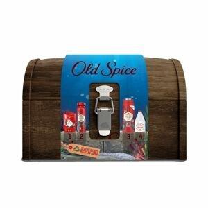 Old Spice Deep Sea Wooden Chest Vánoční dárková sada pro muže 4ks
