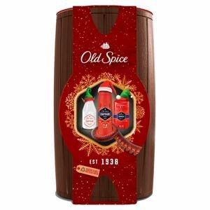 Old Spice Captain Wooden barrel vánoční dárková sada pro muže