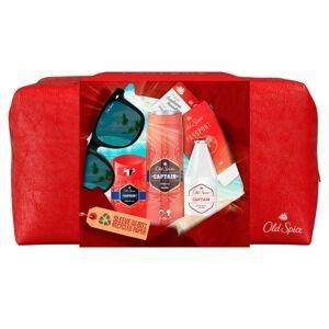 Old Spice Dárková kosmetická taška pro muže Bearglove 3ks