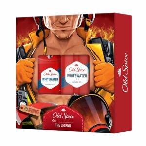Old Spice Whitewater Fireman Vánoční dárková sada pro muže 2ks
