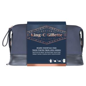 Gillette King C. Beard & Face Wash Set