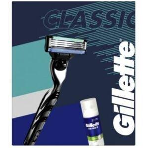 Gillette Dárková sada Mach3 - Holicí strojek + pěna na holení