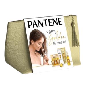 Pantene Sada Intensive Repair: Šampon + Hloubkový balzám + Olej bez oplachování + 3 Ampule