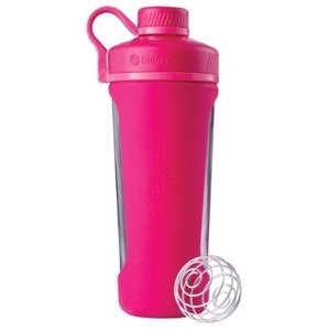 Blender Bottle  Radian Glass 820ml růžová