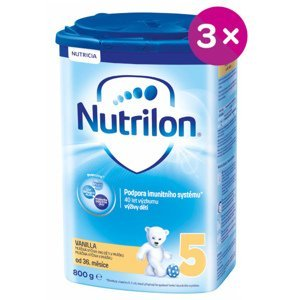 Nutrilon 5 Vanilka 3x800g