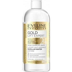 Eveline Cosmetics  Eveline Gold Lift Luxusní micelární voda s anti-age efektem 500ml