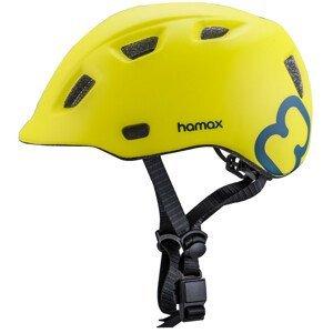 Hamax Cyklohelma Thundercap zelená modré pásiky 52-57