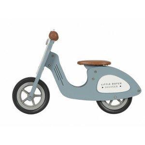 Tiamo  Odrážedlo Scooter dřevo Blue