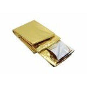 Izotermická fólie zlatostříbr. 140x200cm Steriwund