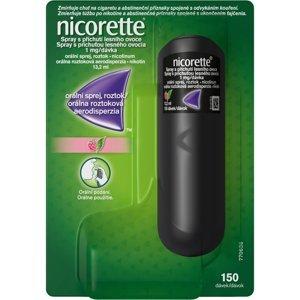 Nicorette® Spray s příchutí lesního ovoce 1mg/dávka, orální sprej, roztok 13.2ml/150dávek