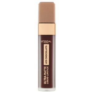 L'Oréal Paris  L´Oréal Paris Infaillible Les Chocolats tekutá matná tmavě hnědá rtěnka 868 Cacao Crush 7,4ml