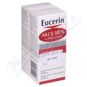 Eucerin DEO Intenzivní antiperspirant sprej DUOPACK 2x30ml