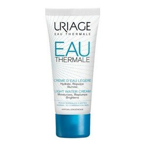 Uriage Lehký hydratační krém pro normální a smíšenou pleť Eau Thermale (Light Water Cream) 40ml