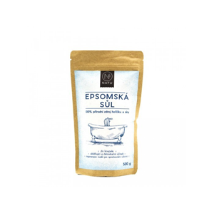Natu Epsomská sůl 100% 500g