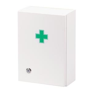 Štěpař Nástěnná lékárnička pro 5 osob – dekor bílá