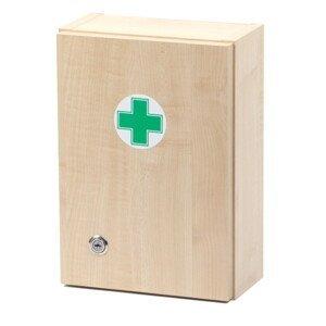 Štěpař  Lékárnička dřevěná s náplní do 5 osob-ZM 05