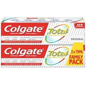 Colgate Zubní pasta Total Whitening Duopack 2x75ml