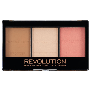 Makeup Revolution London  Revolution Ultra Sculpt & Contour Kit Ultra Fair C01 paletka na tvář 11g