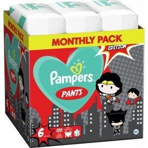 Pampers Pants Warner Bros Plenkové Kalhotky Velikost 6, 120 Kalhotek, 15kg+