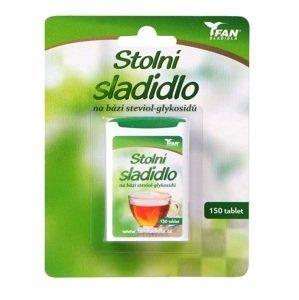 Fan sladidla  Fan sladidlo Stevia 7.8g/150 tablet
