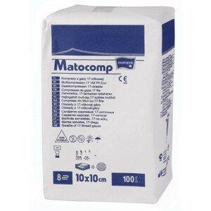 Matocomp 7.5 x 7.5cm komprese z gázy 100ks