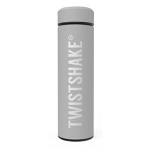 Twistshake Termoska Hot or Cold Pastelově šedá 420ml